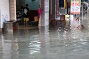 Hình ảnh các tuyến đường Đà Nẵng ngập sâu sau mưa lớn