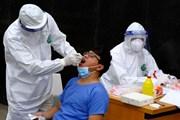 Hình ảnh xét nghiệm cho cán bộ, y bác sỹ tại Bệnh viện Bạch Mai