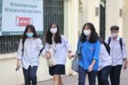 Hà Nội: Học sinh THCS, THPT đi học trở lại sau 3 tháng nghỉ