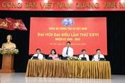Hình ảnh phiên trù bị Đại hội đại biểu Đảng bộ TTXVN lần thứ XXVI