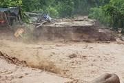 Hình ảnh thiệt hại do lũ ống, lũ quét tại huyện Nậm Pồ, Điện Biên