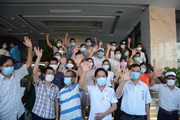 Đà Nẵng chia tay y, bác sỹ tình nguyện từ Bình Định, Thừa Thiên-Huế