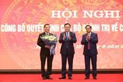Hình ảnh lễ công bố ông Chu Ngọc Anh làm Phó Bí thư Thành ủy Hà Nội