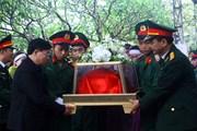 Nghệ An tiễn đưa các Liệt sỹ hy sinh tại Thủy điện Rào Trăng 3