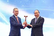 Hình ảnh Lễ bế mạc Hội nghị Cấp cao ASEAN lần thứ 37