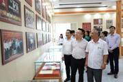 Đoàn đại biểu TTXVN thăm và làm việc tại tỉnh Thái Nguyên