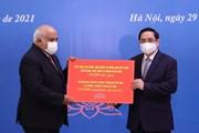 Thủ tướng trao 10.000 tấn gạo của Việt Nam tặng nhân dân Cuba