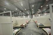 Gấp rút hoàn thiện bệnh viện dã chiến 5.000 giường tại Bình Dương