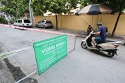 """Hà Nội bắt đầu thiết lập """"vùng xanh"""" nhằm chống lây nhiễm từ bên ngoài"""