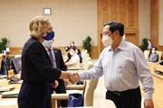 Thủ tướng làm việc với đại diện các doanh nghiệp Hoa Kỳ tại Việt Nam