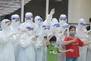 Tết Trung Thu ấm áp ở Bệnh viện Dã chiến thu dung và điều trị số 1