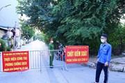 Hà Nội phong tỏa tạm thời tổ 4, tổ 5 phường Việt Hưng vì COVID-19
