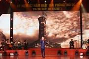 """Chương trình """"Khúc tráng ca Hà Nội"""" kỷ niệm 67 năm Giải phóng Thủ đô"""