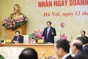 Thủ tướng Phạm Minh Chính gặp mặt các doanh nhân tiêu biểu