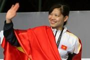 """[Photo] Cô gái """"vàng"""" Nguyễn Thị Ánh Viên và 2 kỷ lục SEA Games"""