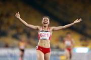 [Photo] Nguyễn Thị Huyền đoạt HCV, phá kỷ lục nội dung 400m rào nữ