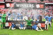 Manchester City giành Siêu cúp Anh sau loạt sút luân lưu may rủi