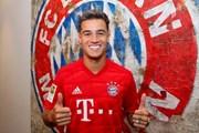 'Bom tấn' Coutinho rạng rỡ trong ngày gia nhập Bayern Munich