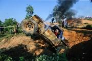 Cận cảnh ngày thi đấu cuối cùng giải đua ôtô địa hình tại Đồng Mô
