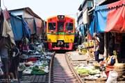 [Video] Hãi hùng khu chợ thách thức 'tử thần' tại Thái Lan