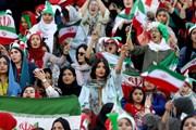 Phụ nữ Iran lần đầu tiên được đến sân bóng sau 40 năm bị cấm