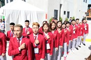 Lễ thượng cờ của đoàn thể thao Việt Nam tại SEA Games 30