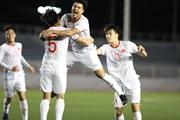 Cận cảnh chiến thắng nghẹt thở của U22 Việt Nam trước U22 Singapore