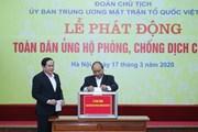 Thủ tướng dự Lễ phát động toàn dân ủng hộ phòng, chống COVID-19