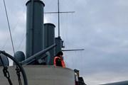 Hình ảnh chiến hạm Rạng Đông - nhân chứng lịch sử nước Nga
