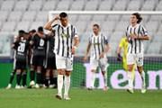 Cận cảnh Juventus ngậm ngùi chia tay Champions League