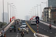 Khánh thành cầu vượt nút giao đường Hoàng Quốc Việt-Nguyễn Văn Huyên