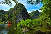 Chiêm ngưỡng mùa thu tuyệt đẹp ở khu du lịch sinh thái Tràng An