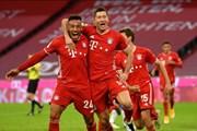 Hình ảnh đáng nhớ trong trận thắng siêu kịch tính của Bayern