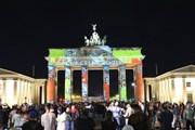 Lễ hội ánh sáng tại Berlin kỷ niệm 30 năm tái thống nhất nước Đức
