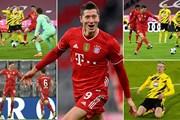 Cận cảnh Bayern thắng ngược Dortmund ở trận 'kinh điển Đức'