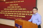[Photo] Đảng ủy TTXVN triển khai nhiệm vụ quý 2 năm 2021