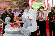 [Photo] Khánh thành Đền thờ Đại tướng Võ Nguyên Giáp tại Sơn La