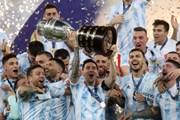 Cận cảnh Argentina đánh bại Brazil để đăng quang Copa America