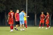 U23 Việt Nam nỗ lực tập luyện chuẩn bị cho vòng loại U23 châu Á