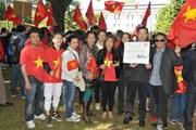 Cộng đồng Việt Nam tại Bỉ hướng về biển đảo quê hương