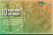 10 khuyến nghị nhằm ngăn chặn động vật hoang dã tuyệt chủng