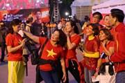 [Photo] Không khí trước thềm trận chung kết giữa Việt Nam và Indonesia