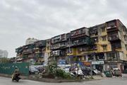 [Photo] Hiện trạng các khu chung cư cũ, xuống cấp nguy hiểm tại Hà Nội