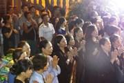 Xúc động Lễ cầu siêu các nạn nhân tử vong vì tai nạn giao thông