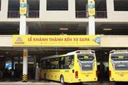 Khánh thành bến xe Sapa hiện đại, sức chứa tới 300 phương tiện