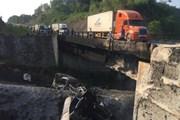 Thông đường tạm cao tốc dài nhất Việt Nam sau vụ xe bồn phát nổ