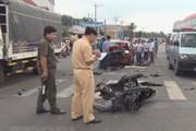 Việt Nam có khoảng 60% các vụ tai nạn giao thông là do xe máy