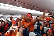 Người hâm mộ vượt hơn 5.300 km cổ vũ đội tuyển Việt Nam-Yemen