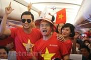 Vietnam Airlines 'cõng' hơn 300 CĐV xem trận tứ kết Việt Nam-Nhật Bản