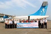 VASCO chính thức khai thác đường bay mới Vinh-Đà Nẵng